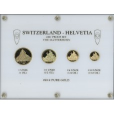 Switzerland 1987, Gold-Set The Matterhorn