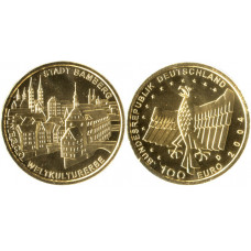 Germany 2004, 100 Euro, Gold Coin, Bamberg,