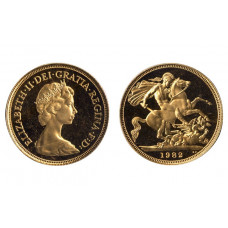 Great Britain 1982, Sovereign