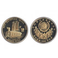 Korea South 1986, 50.000 WON