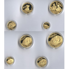 South Africa 2005, Nature Prestige Gold Proof Set