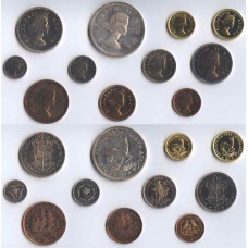 South Africa 1954, Long Proof Set