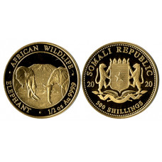 Somalia 2020, 500 Shillings, Proof Gold Coin