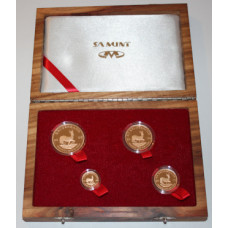 South Africa 2006, Proof Prestige Krugerrand Set , 20 Year Special Anniversary Set