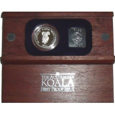 Australia 1988, 50 Dollars - Proof Platinum Koala Coin