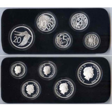 Australia 1966 / 2009, Decimal Proof Pattern-Set