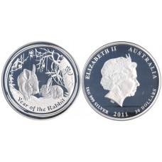 Australia 2011, 30 Dollars - 2011P, Year of the Rabbit