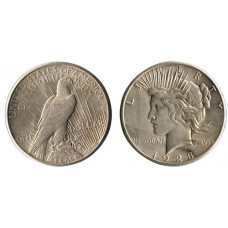 "USA, 1923, One Dollar ""Peace Dollar"", EF"
