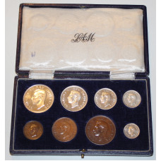 South Africa 1944, Proof Set, King George VI - Coin Set