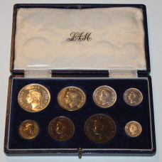 South Africa 1945, Proof Set, King George VI - Coin Set